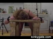 bound and bent slave Lia