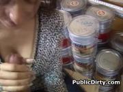 Brunette Amateur Girl Finger Banged In A Store