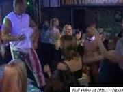 Tasty women dances on party