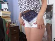Amateur teen ass to mouth POV