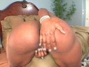 Fat ass mama rides her boyfriends cock