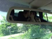 Dude filmed a couple fucking in his car