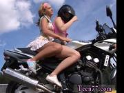 Young girl-on-girl biker girls