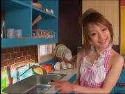 Cute Japanese Housewife Blowjob