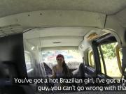 British ebony interracial sex in taxi