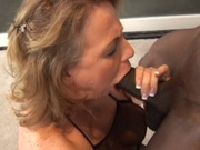 Brunette wife experience interracial sex