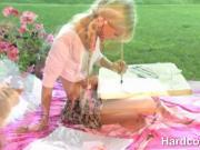 Blonde Teen hottie Gets All Horny