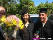 College Girlfriend Sucking Dick At Graduation Ceremony
