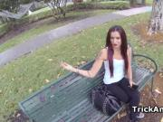 Erotic Albie picked in a park and fucked good