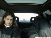 Russian Teen Couple Public Car Sex