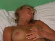 Amateur girl masturbating in the bathtub