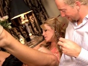 Two hot moms banging a stud