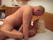 Blonde wife reaching orgasm repeatedly