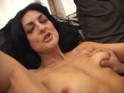 Mature wife sucking and fucking her boyfriend