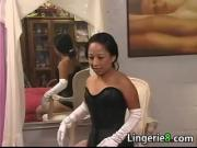 Latin MILF Gets Tied Up