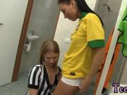 Brazilian player pulverizing the referee