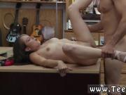 Brunette caught in shower and girl shemale handjob cumshot