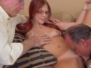 Old blowjob and old professor first time Frankie And The Gang Take a