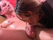 Lovely teen having sex with an older guy
