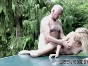 Young hd and old man young blonde Bart is a profound paramour of