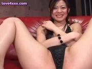Asian in black gets cunt delighted