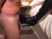 Fetish milf banging a dirty old man