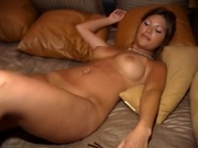 Pretty lesbians fingering and licking pies