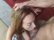Tall and skinny girl fucked hard