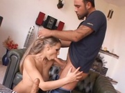 Gorgeous babe gets her clean holes fucked