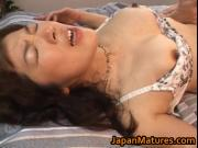 Sexy Mature Babe Eri Nakata Gets Insanely Hammered By One Big Hard-On On All Her Fuck Holes