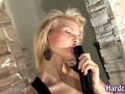 spectacular blonde tease