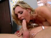 Pretty Mom Fucks Meaty Pole
