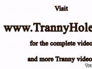 Beautiful tranny amateur butt fucked