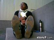 Cute Ebony Girls Smelly Soles