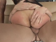 Amateur white chick jammed by two cocks