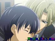 Uniform anime gay hardcore anal sex