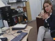 I Had Her Naked in my office and she is Sucking on my Cock
