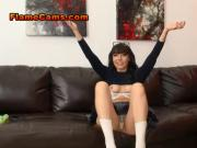 Schoolgirl Drops Her Panties For You