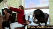 Office girls love this kind of male strippers surprise