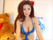 Beautiful redhead sweet pussy play with toy private cam
