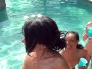 Superhot reality babes give bjs naked