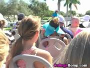 Blonde Ex Girlfriend Sucking Dick On Top Of Double Decker Bus
