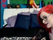 Sexy Teen Redhead in Stockings