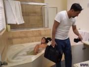 Ebony black teen fucking bbc xxx Lexy Bandera get's her pipes cleaned