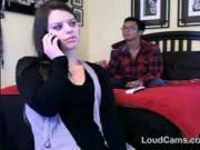 Teen Strips In Front Of Her Boyfriend