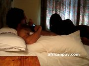 Round ass african amateur hooker gets face cumshot
