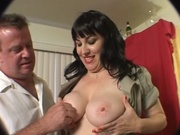 Amateur white milf gets pounded at home