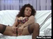 Mature Woman With A Vibrator