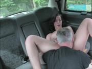 Hot babe railed by nasty fraud driver