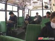 Japanese Girl Sucking Cock In A Bus